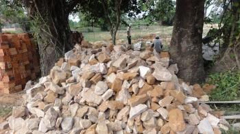 Lieferung der Steine