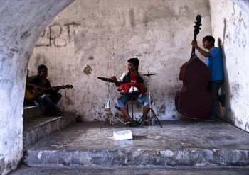 Ziele - Musiker in Kambodscha