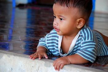 Unterstützung | Kleinkind im Savong Orphanage Center