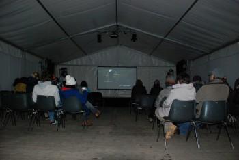 Vortrag beim Waldklang Winterfestival in Anif