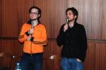 Christoph und Dominik im Festsaal der HTL St. Pölten
