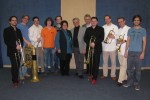 Quintbrass, Dominik Hahn, Isolde Kerndl, Hans Häusler, Dominik Laister und Christoph Einfalt