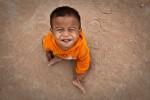 Der kleinste Bewohner des Savong Orphan Centre