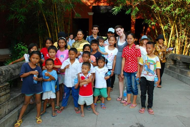 Ausflug mit den Waisenkindern