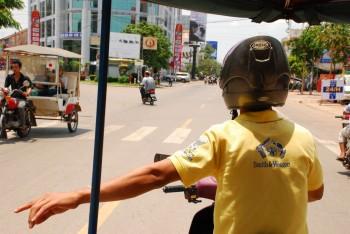 Fahrt durch Siem Reap