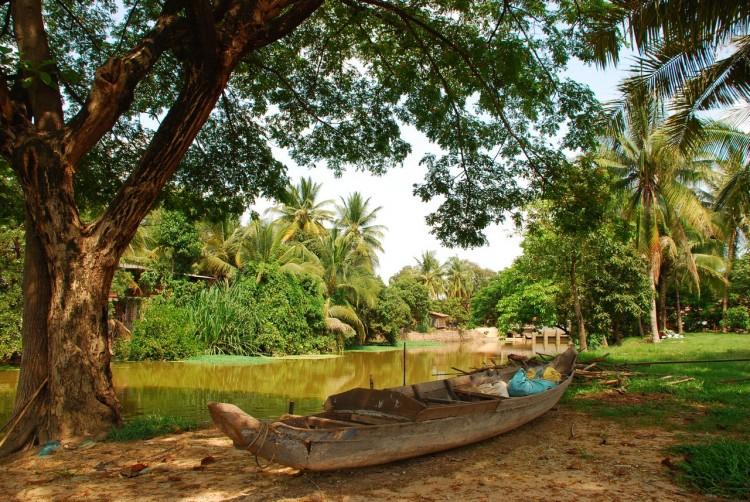 Kambodschanische Landschaft