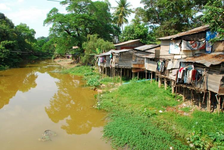 Am Weg zur Floating Village