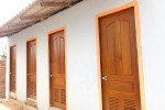 Die neuen Türen für die sanitären Anlagen