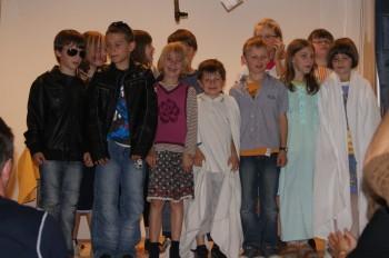 Die Kinder der Jungschargruppe Kirchbach