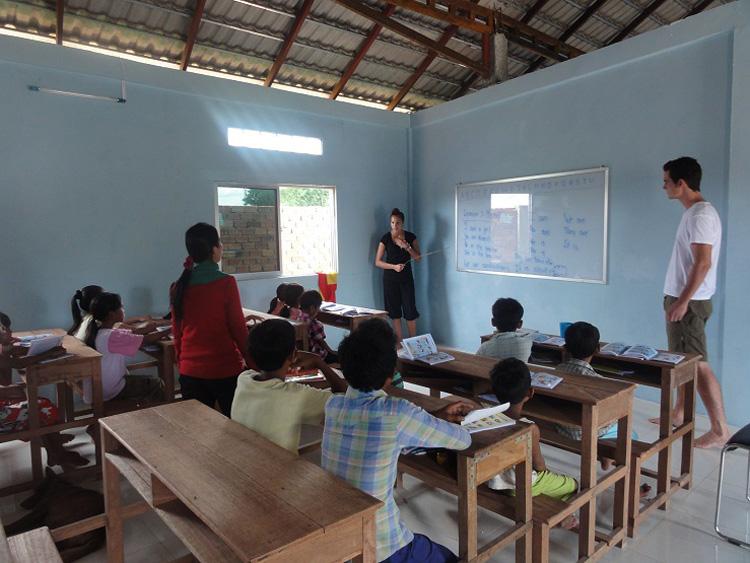 Unser Klassenraum während dem Unterricht