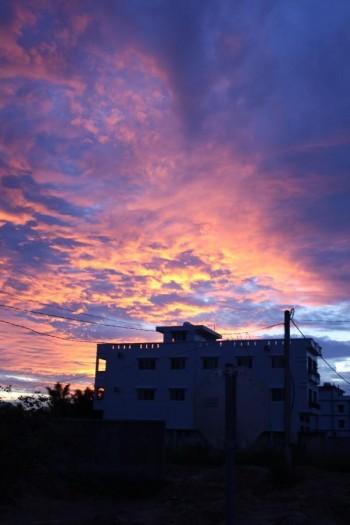 Sonnenuntergang in Siem Reap