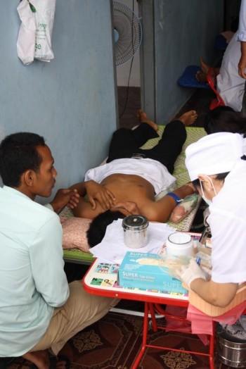 Blutspendeaktion in der Savong School