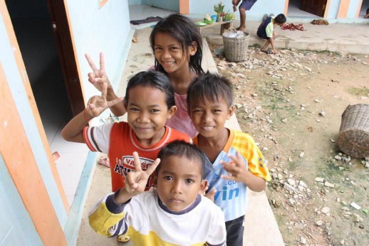 Einige der Kinder