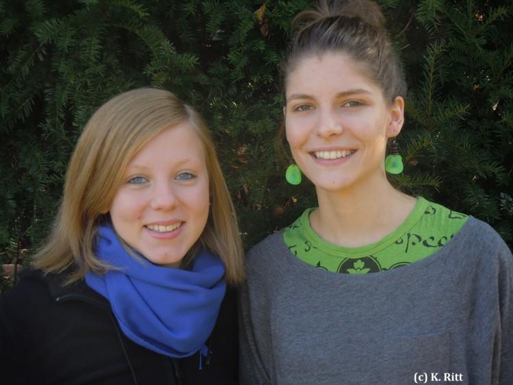 Sigrid und Anja