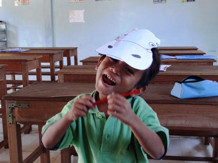 Unser kleiner kambodschanischer Kasperl