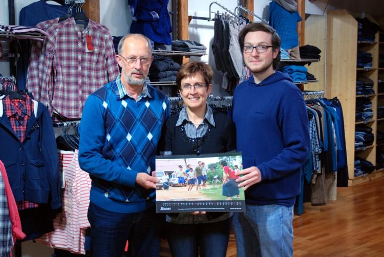 Familie Haderer mit Christoph Einfalt