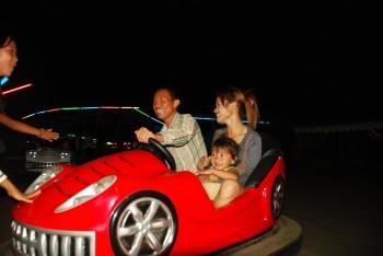 Savong mit seiner Familie
