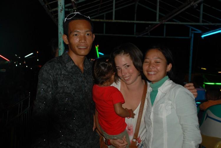 La, Ursula und Soya