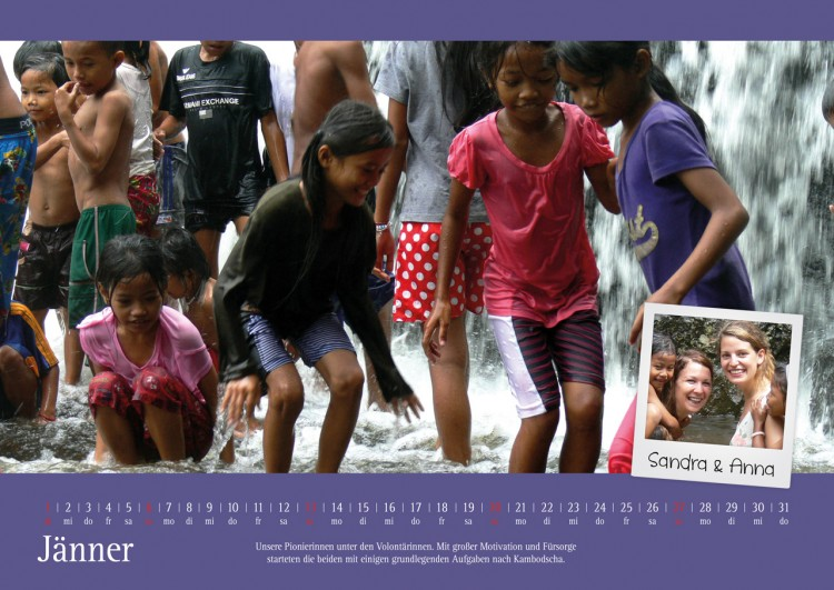 Kalenderblatt Jänner 2013