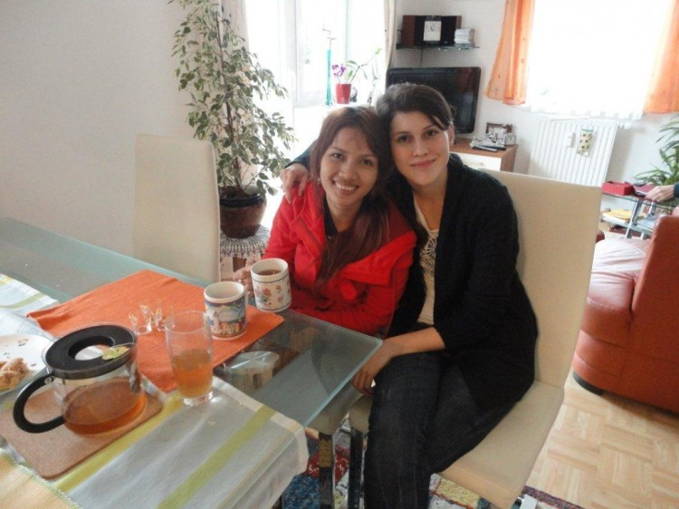 Anit und Birgit in Linz
