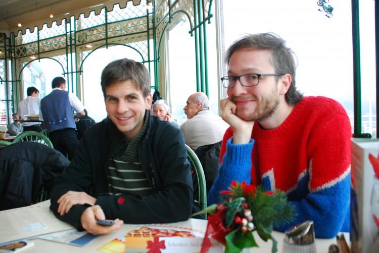Dominik und Christoph in Mondsee