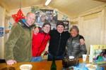 Alex, Tom, Bertl und Savong in Straßwalchen