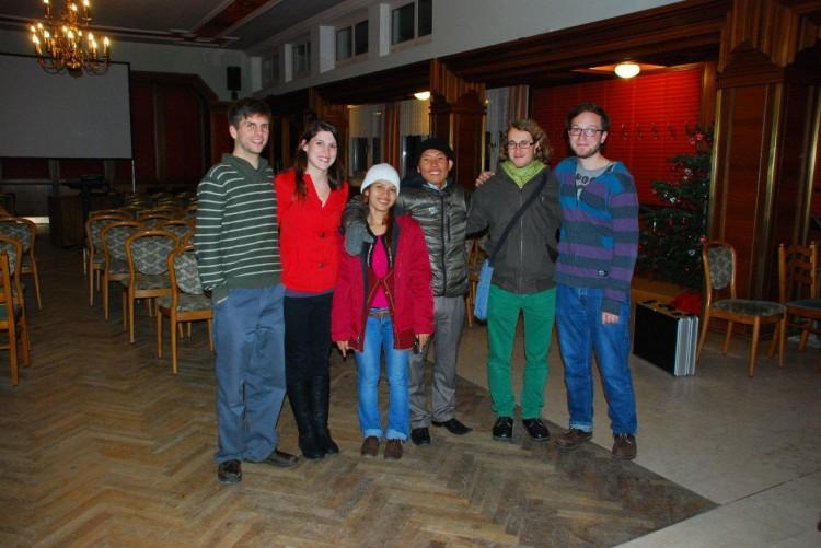 Gruppenfoto beim Vortrag in Gerungs