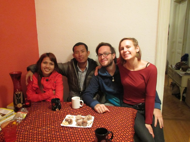 Anit und Savong bei Christina und Christoph