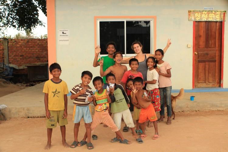 Teresa und unsere Kids