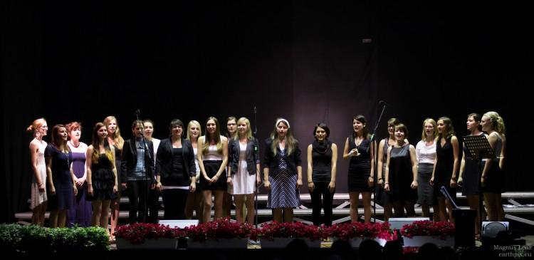 Chor bei der Veranstaltung