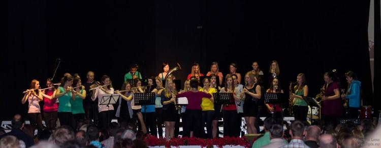 Chor beim Benefizabend