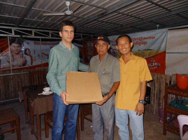 Dominik, Savong und der Bürgermeister von Chreauv