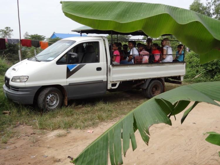 Unser Truck mit den Kids
