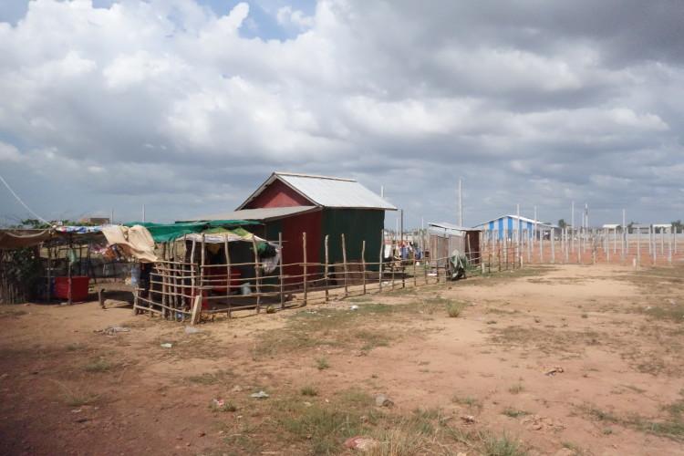 Kambodschanisches Dorf