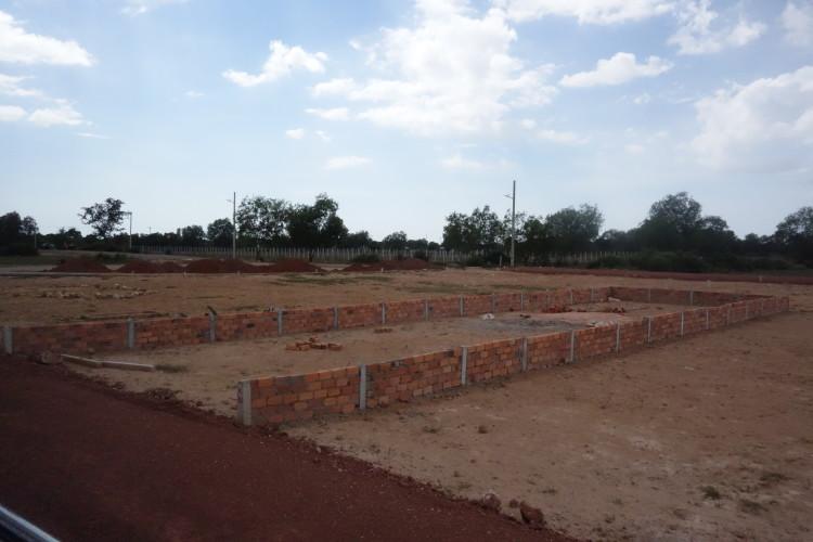 Kambodschanisches Grundstück