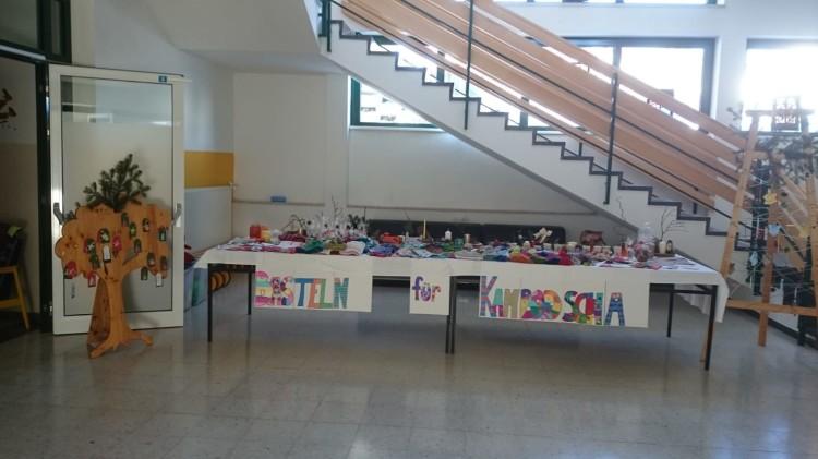 Bastelarbeiten der SchülerInnen NMS Groß Gerungs