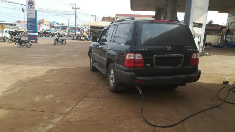 Gas-Tankstelle