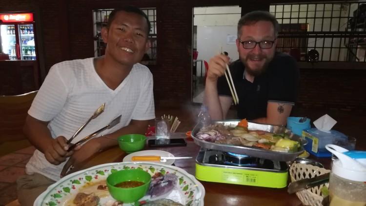 Abendessen mit Savong