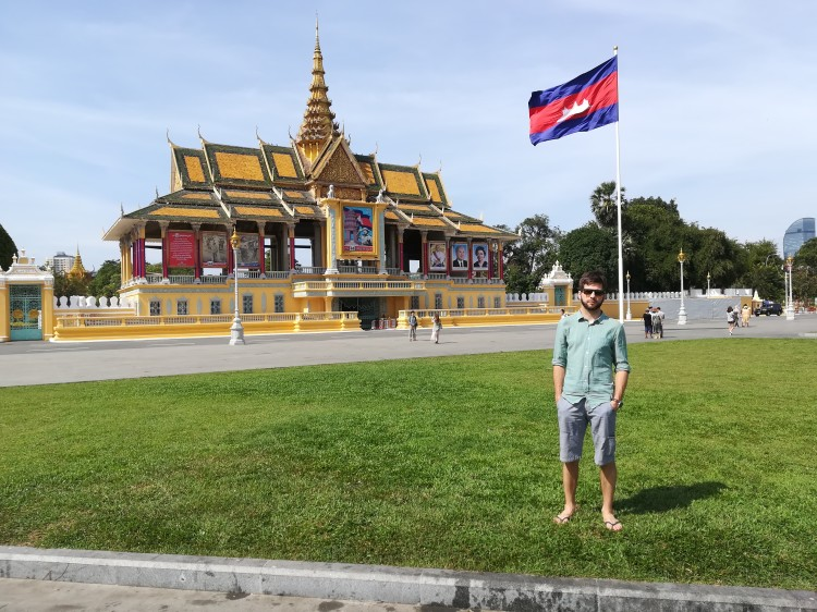 Dominik in Phnom Penh