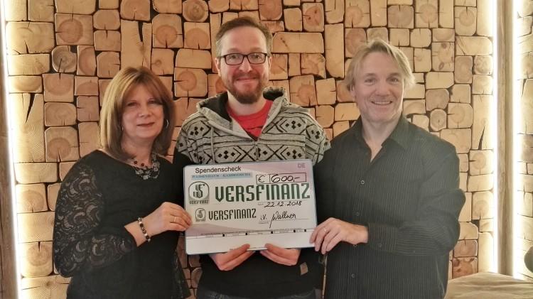 Astrid Wallner, Christoph Einfalt und Franz Wallner